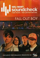 Fall Out Boy - Walmart Soundcheck (Slimline DVD, 2007) BRAND NEW