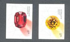 Australia Rare Beauties gemstones mnh set-self-adhesive