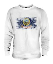 IDAHO STATE DISTRESSED FLAG UNISEX SWEATER TOP IDAHOAN SHIRT JERSEY GIFT