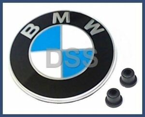 NEW Genuine BMW 323Ci 323i 325Ci 325i 328i Trunk Lid Roundel Emblem + Grommets