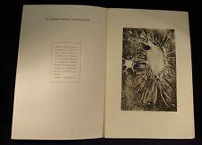 GIUSEPPE TARANTINO - INCISIONE CALCOGRAFICA 35 DI 50 - ULTRASTRUTTURA N.1 - 1969