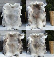 Unique Genuine GIANT REINDEER Skin/Hide/ Rug Quality Grade and Pile ECO pelt