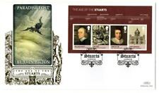 2010  Paradise LostThe Age of the Stuarts MS3094 Benham Gold 500 FDC