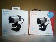 Microsoft LifeCam Studio 1080p HD 1425 Business Webcam USB 2.0 Skype Q2F-00013