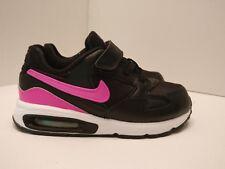 Nike Air Max ST (TDV) UK 9.5 Negro Rosa explosión Blanca 653822008