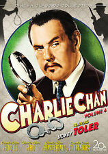 Charlie Chan Collection - Vol. 4 (DVD, 2008, 4-Disc Set)