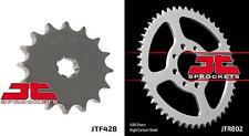 Front & Rear Sprocket Kit JR80 D,F,G,H,J,K,L,M,N,P,R,S,T,V,W,X,Y,K1,K2,K3 82-03
