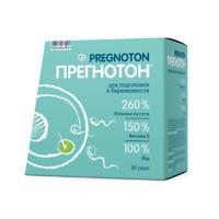 Pregnoton 30 sachets. To increase the probability of conception.