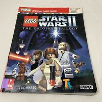Lego Star Wars II  Prima Official Strategy Game Guide  PS2  Xbox  Gamecube PC GC