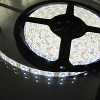 Cool White 5M Waterproof 300 LED 3528 SMD Flexible LED Light Lamp Strip DC 12V