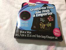 Tulip Grab & Go Tote New Knit Crochet