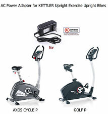 AC Power Supply Adapter for KETTLER AXOS CYCLE P & GOLF P Upright Exercise Bike