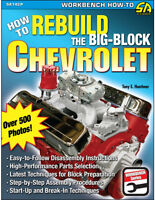How to Rebuild the Big-Block Chevrolet Book~366-396-402-427-454~step-by-step~NEW