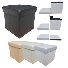 Pouf, Bean Bag, Sofa Container PVC Folding Footrest Preziosa, Interlaced