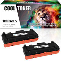2 Pack Toner Compatible for Xerox 106R02777 WorkCentre 3215 3225 Phaser 3260