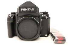 【NEAR MINT】Pentax 67 II Medium Format AE Finder 67II w/Strap from Japan #680356