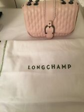 Longchamp Amazone Matelasse Small  Leather Shoulder Cross body Bag Chain Strap/