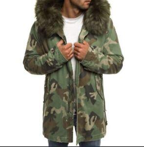 winterjacke herren Parker Camouflage Gr: L
