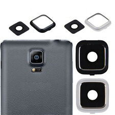 1Pc Camera Frame Holder + Glass Lens Cover For Samsung Galaxy Note 4 New