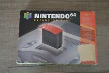 Boite vide Expansion pak + manuel notice console Nintendo 64 N64 PAL pack