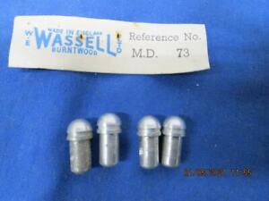 4 ROCKER ARM BALL PINS, TRIUMPH 1969-UP, ALL 650 & 750 Wassell  # 71-0070