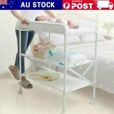 Folding Baby Infant Newborn Diaper Nappy Changing Table with Storage Space