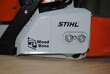 Stihl Wood Boss Vinyl Decal / Sticker