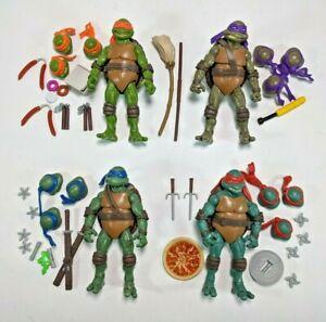 2016 Teenage Mutant Ninja Turtles TMNT Classic Collection Set Complete Walmart