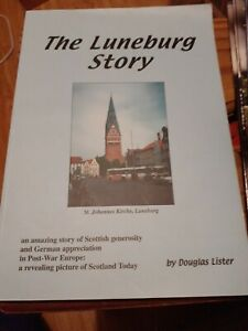The Luneburg Story by Douglas Lister, Signed by author pback book