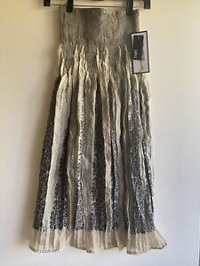 Lapis Taupe Convertible Top Dress Or Skirt One Size