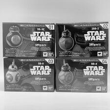 STAR WARS S.H. Figuarts Full set BB-9E 2BB-2 BB-8 BB-4 Last Jedi BANDAI New