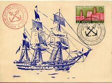 CARTE POSTALE/ EXPOSITION REGIONALE DE MAQUETTES LE HAVRE 1960 / VOILIER