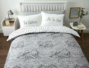Winnie the Pooh Double Duvet Cover Reversible Bedding Set