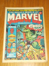 MIGHTY WORLD OF MARVEL #9 2ND DECEMBER 1972 BRITISH WEEKLY COMIC