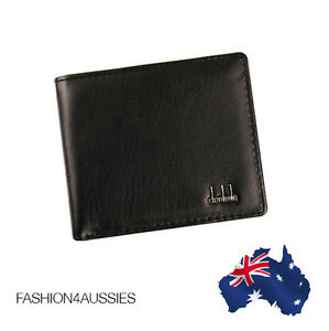 (COST PRICE!) WALLET MENS LEATHER BLACK ~ Class ~ Pocket Card Clutch Purse
