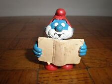schtroumpf smurf schleich lot 1982 West Germany (Silan)