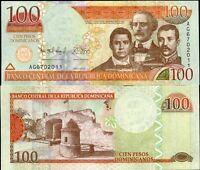 DOMINICAN REPUBLIC 100 PESOS 2012 P NEW UNC
