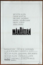 Woody Allen   Manhattan   Vintage Original 1979  Movie Poster