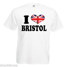 I Love Heart Bristol Children's Kids Childs Gift T Shirt