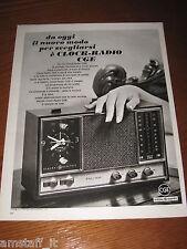 AA9=1968=CGE CLOCK RADIO=PUBBLICITA'=ADVERTISING=WERBUNG=