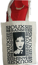 SIOUXSIE SIOUX AND THE BANSHEES NATURAL SHOPPER BAG TATTOO PUNK ROCKER