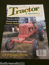 TRACTOR & MACHINERY - FRENCH RALLY - DEC 1995 VOL 2 # 2