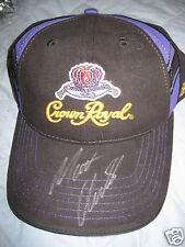 AUTOGRAPHED NASCAR Chase Authentics Matt Kenseth Crown Royal Cap NWT