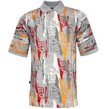 Nike Jordan Mens Cotton All Over Print Polo Shirt 208001 050 Ee125 XL