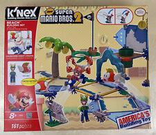 K'Nex Super Mario Bros. 2 Beach Building Set 161 Pieces Rare!