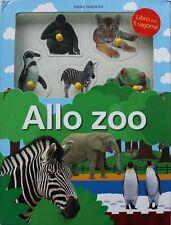 Allo zoo. Libro per bambini con 5 sagome - Cartonato Emme Edizioni