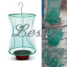 Reusable Green Fly Catcher Killer Cage Net Trap Insert Bug Pest Hanging Catcher