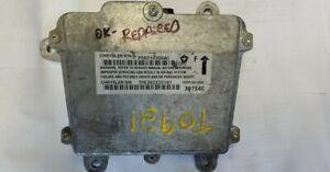 2002 Jeep Wrangler air bag module P56010300AC Tested