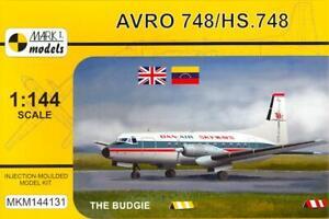 Mark I Models 1/144 AVRO ANDOVER 748 or HAWKER SIDDELEY HS.748 Airliner
