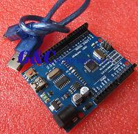 5PCS NEW ATMEGA328P-AU UNO R3 BOARD Compatible FOR ARDUINO WITH MINI USB